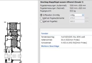 Kettenantriebe EA-K ab sofort für LogiKal verfügbar