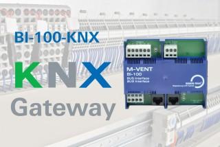 BI-100-KNX - Neues BUS Interface mit KNX