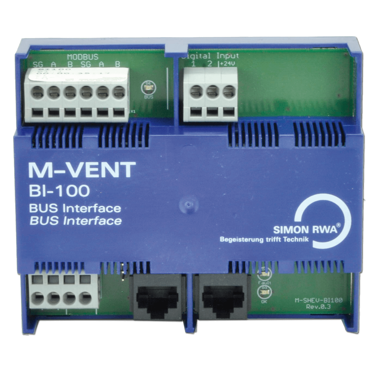 BI-100 Modul M-VENT